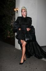 LADY GAGA Night Out in Los Angeles 03/04/2019