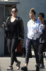 LALA KENT Arrives at a Gym in Los Angeles 03/16/2019