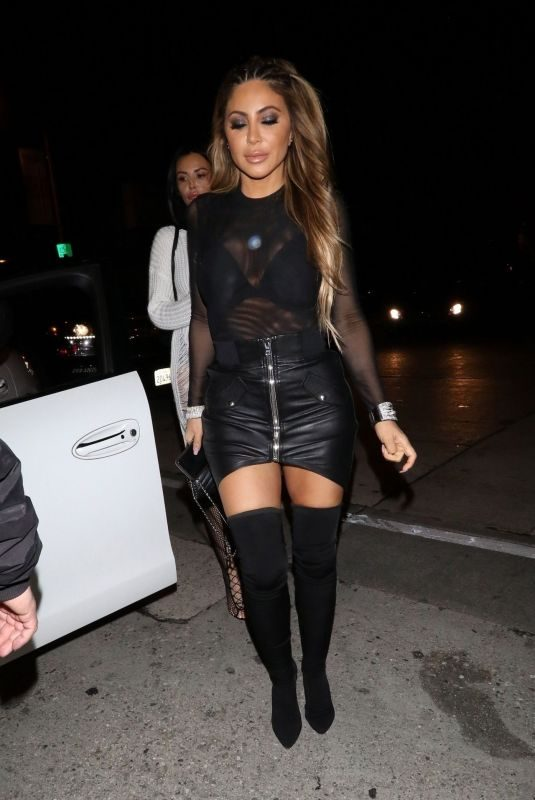 LARSA PIPPEN at Craig's Restaurant in West Hollywood 03/08/2019