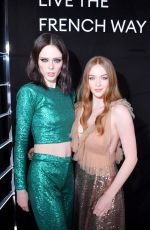 LARSEN THOMPSON at La Nuit by Sofitel Party with CR Fashion Book in Paris 02/28/2019