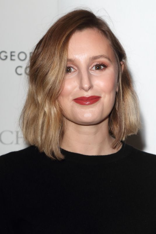 LAURA CARMICHAEL at George Michael Collection VIP Reception in London 03/12/2019
