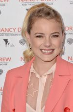 LAURA SLADE WIGGINS at Nancy Drew and the Hidden Staircase Premiere in Century City 03/10/2019