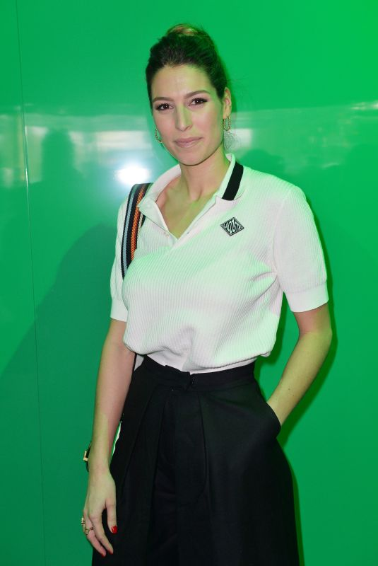 LAURY THILLEMAN at Lacoste Show at Paris Fashion Week 03/05/2019