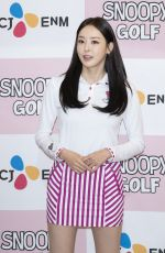 LEE DA-HEE at Snoopy Golf Wear Photocall in Seoul 02/28/2019