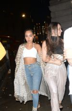 LEIGH-ANNE PINNOCK Arrives at Reign Night Club in London 03/16/2019