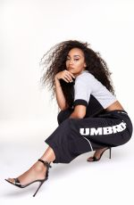 LEIGH-ANNE PINNOCK for Her Collaboration with Umbro, March 2019