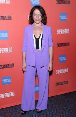 LESLIE KRITZER at Superhero Play Opening Night in New York 02/28/2019