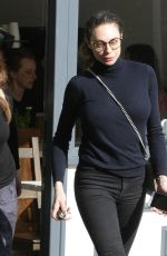 LILLY BECKER Out for Lunch in London 03/05/2019