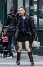 LILY-ROSE DEPP in Skirt Out in Paris 03/23/2019