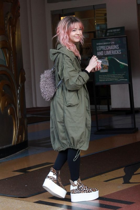 LINDSEY STIRLING Out and About in Los Angeles 03/10/2019