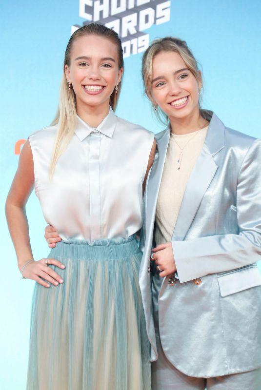 LISA and LENA MANTLER at Nickelodeon