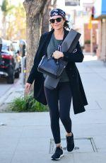 LISA RINNA Leaves a Gym in Los Angeles 03/13/2019