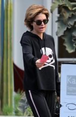 LISA RINNA Out and About in Los Angeles 03/09/2019