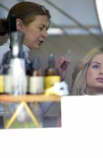 LOTTIE MOSS at a Hair Salon in West Hollywood 03/12/2019