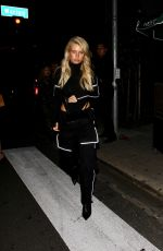 LOTTIE MOSS Leaves Poppy Nightclub in West Hollywood 03/14/2019