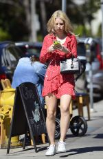 LOTTIE MOSS Out and About in West Hollywood 03/12/2019