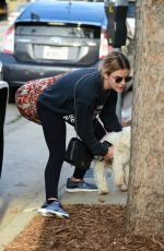 LUCY HALE Out and About in Studio City 03/09/2019