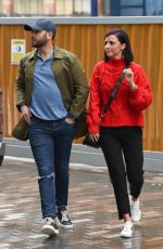 LUCY MECKLENBURGH Out for Lunch in Manchester 03/03/2019