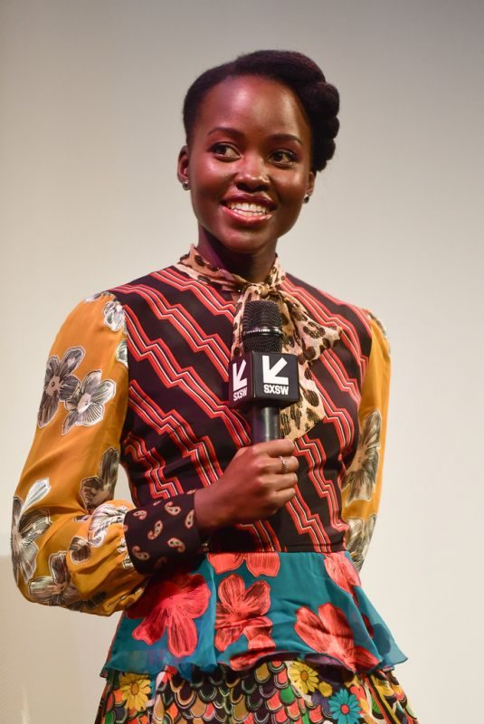LUPITA NYONG'O at Little Monsters Premiere at SXSW in Austin 03/09/2019