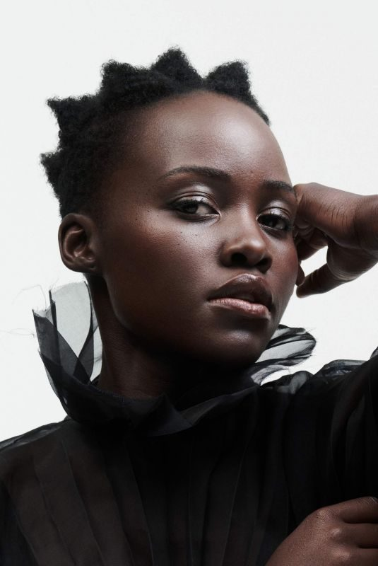 LUPITA NYONG'O for The Edit by Net-a-porter, March 2019