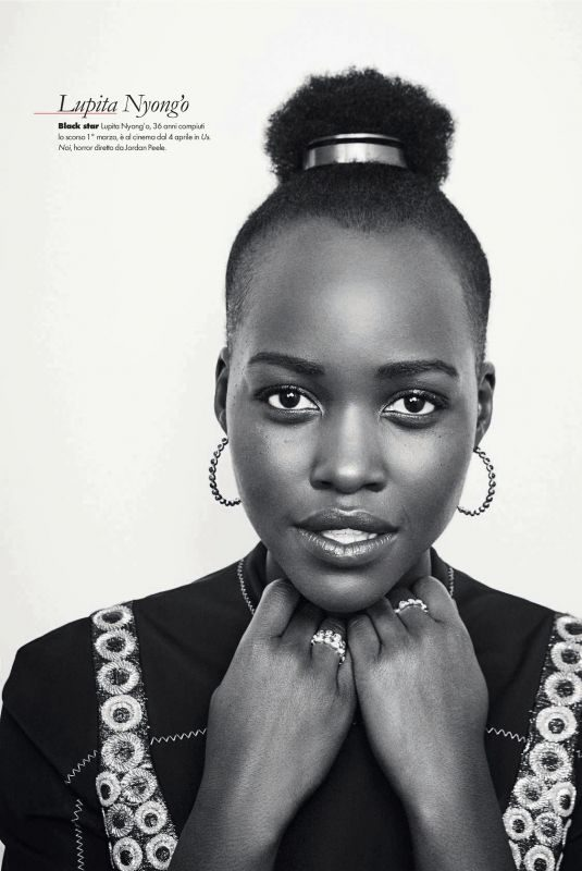 LUPITA NYONG'O in Elle Magazine, Italy March 2019