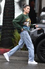 MADISON BEER at Cheesecake Factory in Los Angeles 03/02/2019