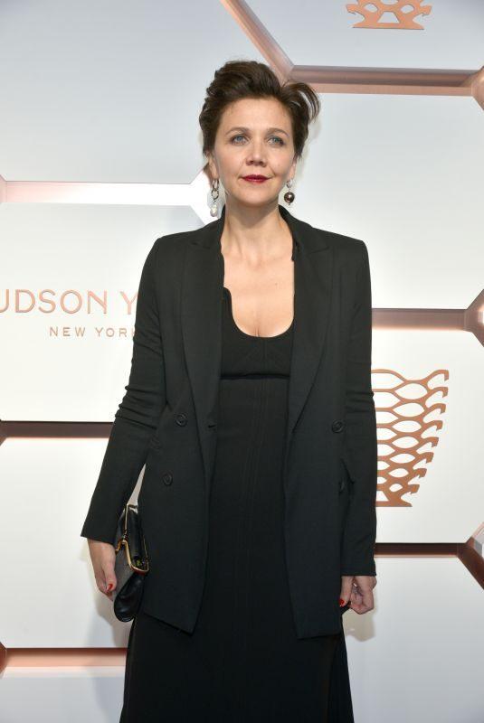 MAGGIE GYLLENHAAL at Hudson Yards VIP Grand Opening in New York 03/14/2019