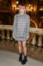 MAISIE WILLIAMS at Stella McCartney Fashion Show in Paris 03/04/2019