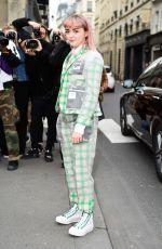 MAISIE WILLIAMS at Thom Browne Show at Paris Fashion Week 03/03/2019