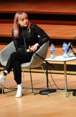 MAISIE WILLIAMS at Women of the World 2019 Festival in London 03/08/2019