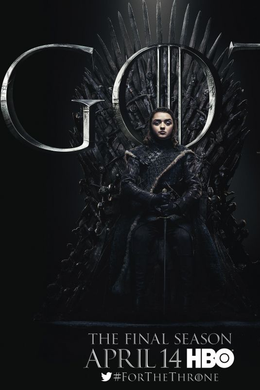 MAISIE WILLIAMS - Game of Thrones Season 8 Promos