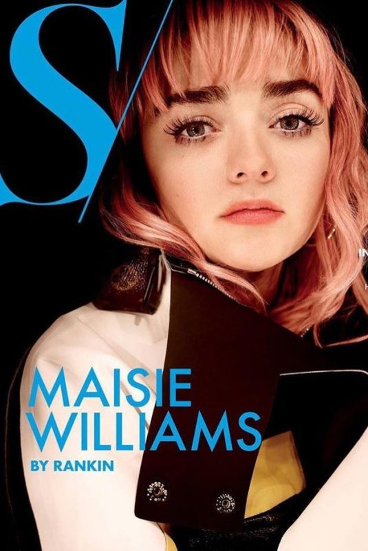 MAISIE WILLIAMS on the Cover of S Magazine, April 2019