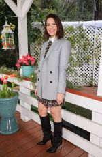 MANDY MOORE on the Set of Home & Family in Universal City 03/08/2019
