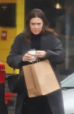 MANDY MOORE Out for Coffee in Los Angeles 03/02/2019