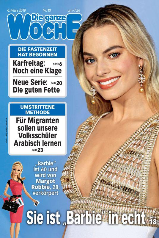 MARGOT ROBBIE in Die Ganze Woche Magazine, March 2019