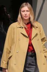 MARIA SHARAPOVA Out and About in Venice Beach 03/03/2019