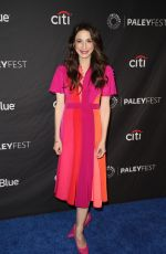 MARIN HINKLE at The Marvelous Mrs. Maisel Presentation at Paleyfest in Los Angeles 03/15/2019