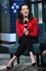 MARINA SQUERCIATI at Build Series in New York 03/04/2019