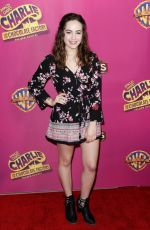MARY MOUSER at Charlie and the Chocolate Factory Opening Night in Hollywood 03/27/2019