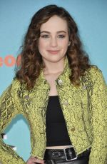 MARY MOUSER at Nickelodeon