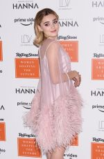 MEG DONNELLY at 2019 Rolling Stones Womens Shaping the Future Brunch in New York 03/20/2019