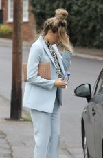 MEGAN MCKENNA Leaves Her Home in Brentwood 03/12/2019