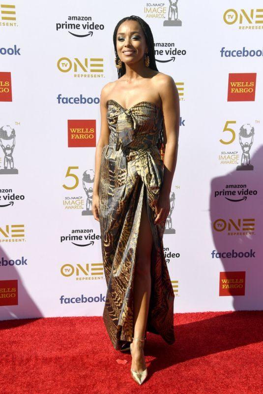 MELANIE LIBURD at Naacp Image Awards 2019 in Hollywood 03/30/2019