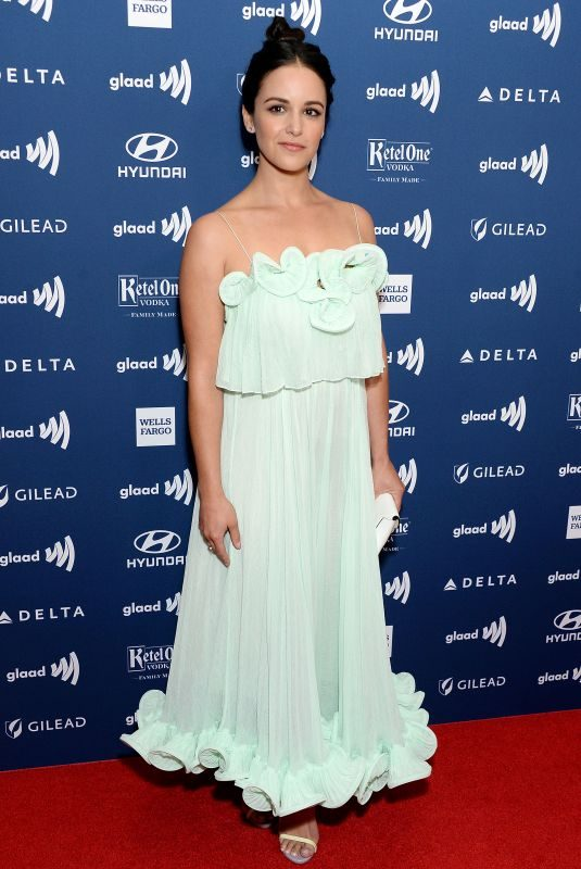 MELISSA FUMERO at 2019 Glaad Media Awards in Los Angeles 03/28/2019