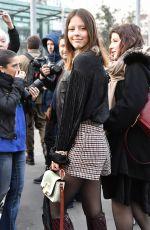 MIA GOTH at Chloe Show at Paris Fashion Week 02/28/2019