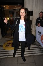 MICHELLE DOCKERY Leaves BBC Radio in London 03/11/2019
