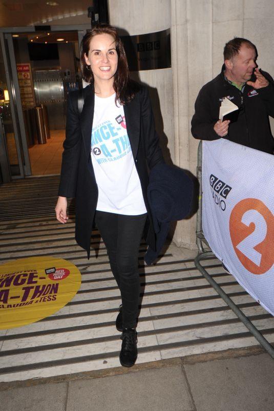 MICHELLE DOCKERY Leaves BBC Radio in London 03/11/2019