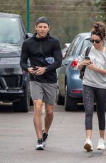 MICHELLE KEEGAN Arrives at a Gym in Essex 02/28/2019