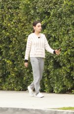 MILA KUNIS Out and About in Los Angeles 02/27/2019