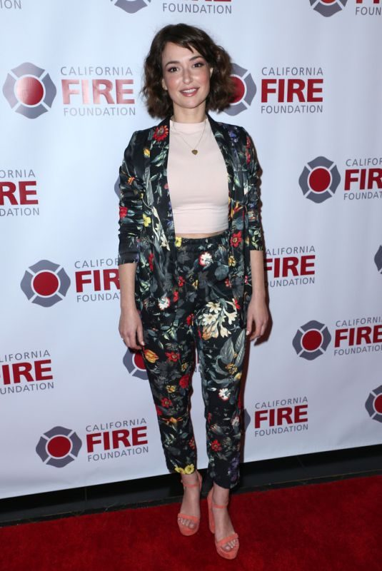 MILANA VAYNTRUB at California Fire Foundation's 2019 Gala in Los Angeles 03/20/2019